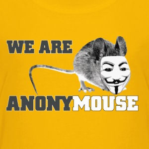 we are anonymouse - anonymous Camisetas - Camiseta premium niño