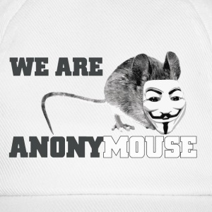 we are anonymouse - anonymous Caps & Mützen - Baseballkappe