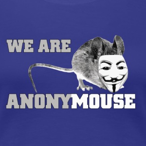 we are anonymouse - anonymous T-shirts - Premium-T-shirt dam