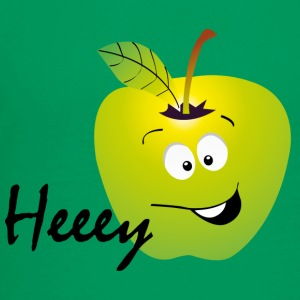 Heeey apple.png Shirts - Teenager Premium T-shirt