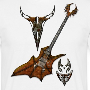Tribal Guitar - T-shirt Homme
