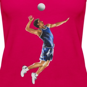volleyball Tops - Women's Premium Tank Top