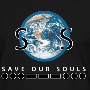 sos.png T-shirts - Mannen contrastshirt