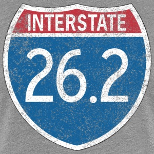 Interstate 26.2 T-Shirts - Women's Premium T-Shirt