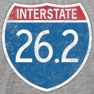 Interstate 26.2 T-Shirts - Men's Premium T-Shirt