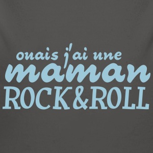 maman rock and roll Sweats - Body bébé bio manches longues