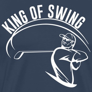 King of Swing  T-Shirts - Men's Premium T-Shirt