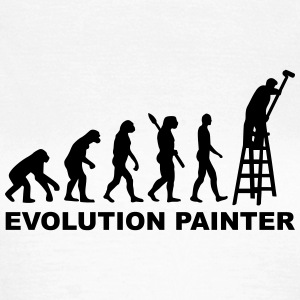 Evolution Painter T-Shirts - Frauen T-Shirt