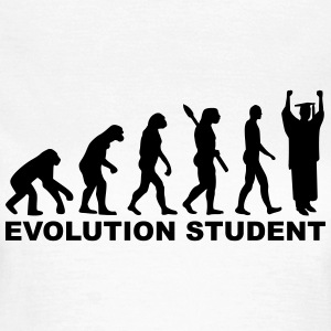 Evolution Student T-Shirts - Frauen T-Shirt