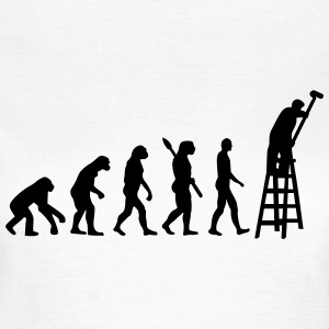 Evolution Maler T-Shirts - Frauen T-Shirt