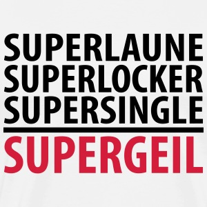Supersingle - Männer Premium T-Shirt