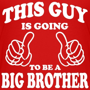 This Guy is going to be a Big Brother Shirts - Kids' Premium T-Shirt