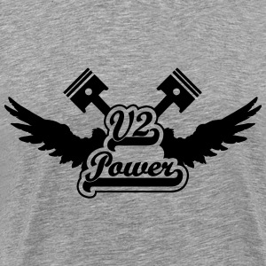 v2 power T-Shirts - Men's Premium T-Shirt
