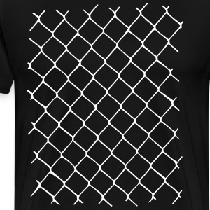 Chain link fence Tee shirts - T-shirt Premium Homme