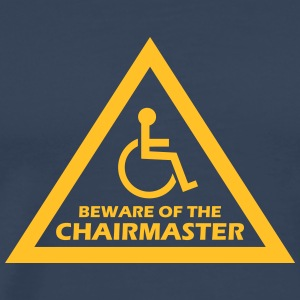 beware of the chairmaster T-Shirts - Männer Premium T-Shirt