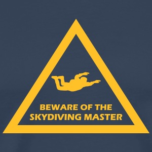 beware of the skydiving master T-Shirts - Männer Premium T-Shirt