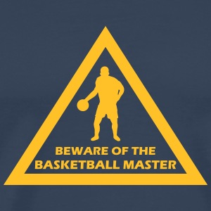 beware of the basketball master T-Shirts - Männer Premium T-Shirt