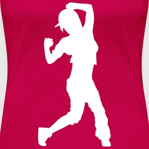 hip hop dancer T-shirts - Premium-T-shirt dam