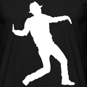 dubstep dancer T-shirts - Mannen T-shirt