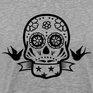 skull tattoo T-Shirts - Men's Premium T-Shirt