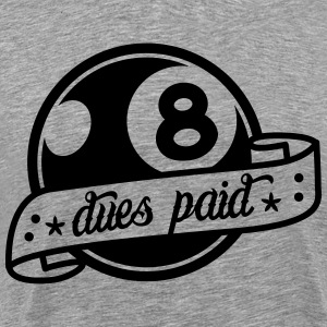 tattoo eight ball T-Shirts - Men's Premium T-Shirt