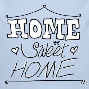 home sweet home ii Sweats - Body bébé bio manches longues