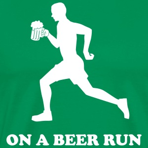 On a Beer Run T-Shirts - Men's Premium T-Shirt