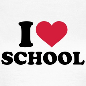 I love School T-Shirts - Frauen T-Shirt