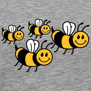 Cute little bees family T-Shirts - Men's Premium T-Shirt