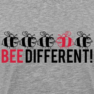 Différents Logo Lustiges Bee Tee shirts - T-shirt Premium Homme