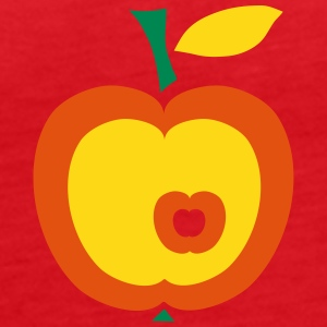 Retro-Apple Topper - Premium singlet for kvinner
