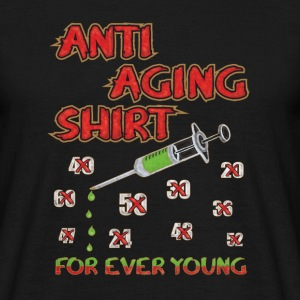 Geburtstags Shirt - FOR EVER YOUNG T-Shirts - Männer T-Shirt