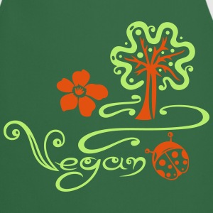 Vegan, Kochen, Baum, tree, cooking, kitchen  Aprons - Cooking Apron