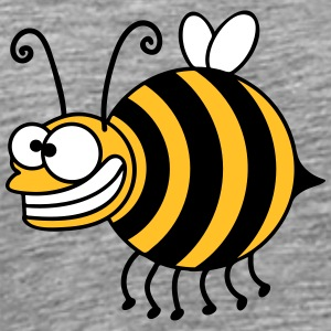 Funny thickness crazy bee T-Shirts - Men's Premium T-Shirt