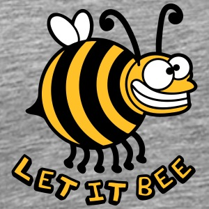 Thick crazy bee let it bee T-Shirts - Men's Premium T-Shirt