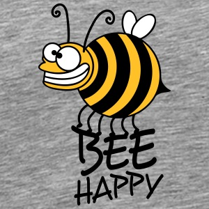 Thick crazy bee bee happy T-Shirts - Men's Premium T-Shirt