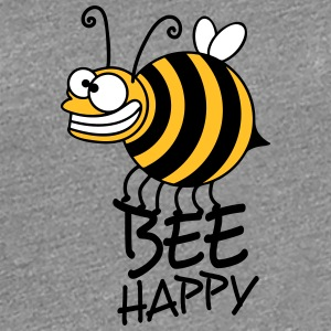 Tjock crazy bee bee happy T-shirts - Premium-T-shirt dam