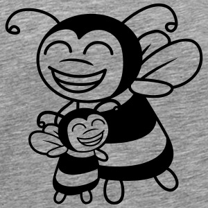 Bees child Mama Papa T-Shirts - Men's Premium T-Shirt