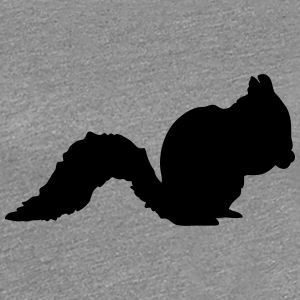 Cute squirrel silhouette T-Shirts - Women's Premium T-Shirt