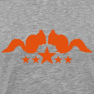 Squirrel star logo T-Shirts - Men's Premium T-Shirt