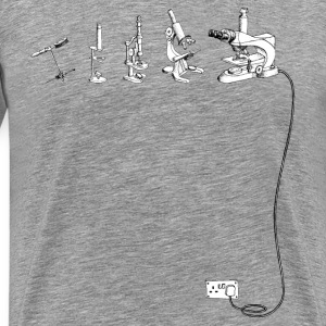 The Evolution of Microscope T-Shirts - Men's Premium T-Shirt