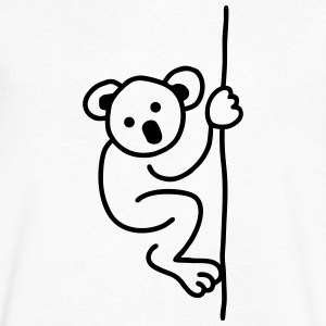 Cute Koala bear T-Shirts - Men's V-Neck T-Shirt