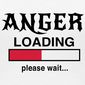 Anger Loading please wait... T-Shirts - Women's Premium T-Shirt