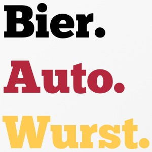 Bier Auto Wurst Handy & Tablet Hüllen - iPhone 4/4s Hard Case