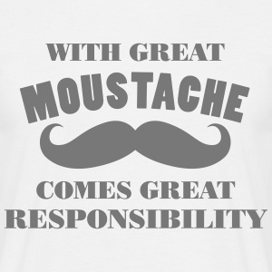 GREAT MOUSTACHE MOVEMBER - Men's T-Shirt