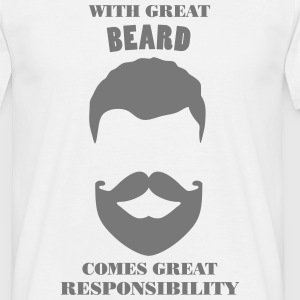 Great Beard - Men's T-Shirt