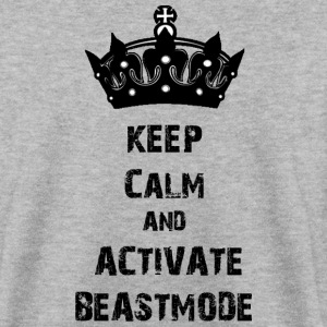 keep calm beastmode Gym Pullover & Hoodies - Männer Pullover