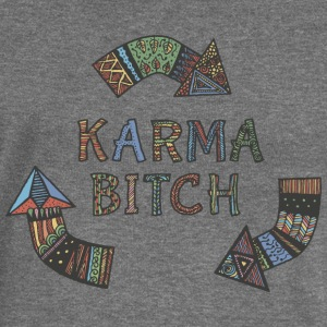 karma  Hoodies & Sweatshirts - Women's Boat Neck Long Sleeve Top