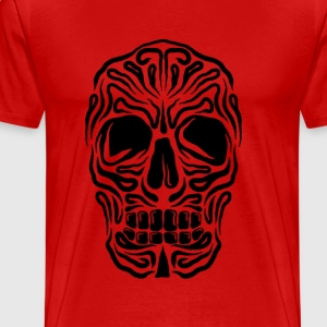 Dark skull  - Men's Premium T-Shirt