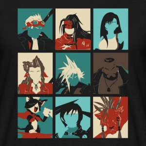 Pop Art FF7 T-shirts - Herre-T-shirt
